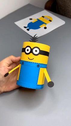 Diy Crafts Love, Diy Crafts For Girls, Animal Crafts For Kids, Diy Crafts Hacks, Craft Activities For Kids, Preschool Crafts, Fun Crafts, Recycled Paper Crafts, Paper Crafts Origami