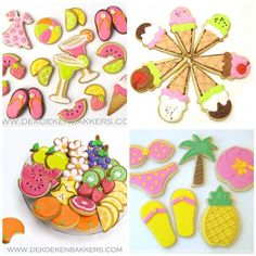 Summer Cookies  OMG These are the cutest cookies ever!