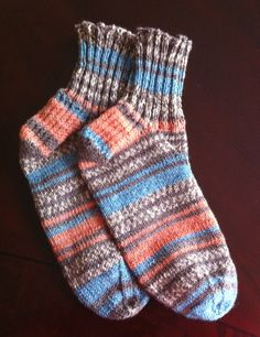 Pattern For Knitting Socks On 9 Inch Circular Needles : Sock, Patterns and Knit socks on Pinterest