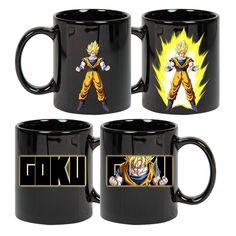 Mugs - Dragonball - Dragonball Z Goku Energy Heat Change Dbz, Goku, Dragon Ball Z, Cartoon Man, Anime Merchandise, Gumball, Family Gifts, Mug Cup, Geek Stuff