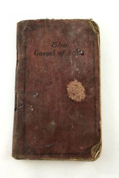 The Gospel of John Softcover pocket edition 1916 American Bible Society