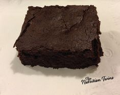 Fudgy Brownies | Rich & Chocolatey | Made with Black Beans!