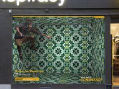 Interactive Display Window by Marcus Wallander.