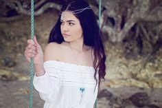 Bayside Bohemian Lookbook Model: Zoe Carstairs Photographer: Nhu Den Accessories: Komorebi Handmade