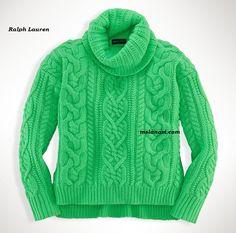 Детские вязаные свитера от Ralph Lauren