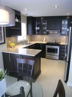 Cool 50+ Incredible Contemporary Kitchen Design Inspiration https://hgmagz.com/50-incredible-contemporary-kitchen-design-inspiration/
