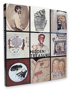 Hidden Treasure. Book cover with spine. by Eye magazine.