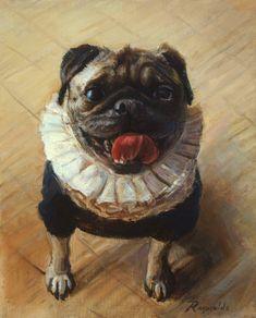 Linda Harris Reynolds's portraits Dog Portraits, Dogs, Animals, Art, Art Background, Animales, Animaux, Pet Dogs, Kunst