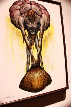 Alex Pardee Nightmare art & pyscho