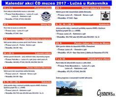 Akce muzea ČD 2017 - Lužná u Rakovníka