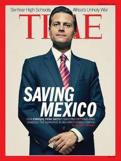 Enrique Peña Nieto, portada de Time magazine por sus reformas | USA Hispanic PressUSA Hispanic Press