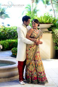 Indiay wedding photography. Couple photo shoot ideas. Photo by Rebecca Davidson