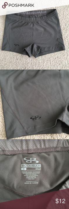 Women's Boombah Shorts Athleisure Wear Grey leisurewear shorts. Fitted. Never worn. boombah Shorts