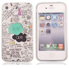 Voguecase® TPU Silicone Shell Housse Coque Étui Case Cover Pour Apple iPhone 4 4S(OKAY)+ Gratuit stylet l'écran aléatoire universelle Voguecase http://www.amazon.fr/dp/B00MVS5IYM/ref=cm_sw_r_pi_dp_ONjAub0FJMQ6H