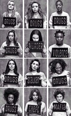 Netflix show - Orange Is The New Black.Awesome Netflix show - Orange Is The New Black. Orange Is The New Black, Black White, Movies And Series, Movies And Tv Shows, Tv Series, Poster Series, Best Tv Shows, Favorite Tv Shows, Serie Orange