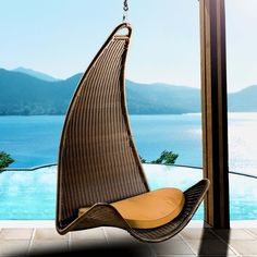 The garden hammock – ideas for attractive garden furniture - Decoration 4 Garden Hammock, Hammock Chair, Swinging Chair, Chair Swing, Rattan Furniture, Garden Furniture, Hanging Furniture, Outdoor Furniture, Lounge Furniture