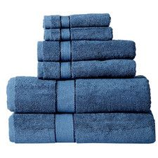 6 Piece Towel Set by Panache Home Inc. Best Bath Towels, Bath Towel Sets, Hand Towels, Home Inc, H&m Home, Good Brands, Decorative Towels, Washing Clothes, Fourth Of July
