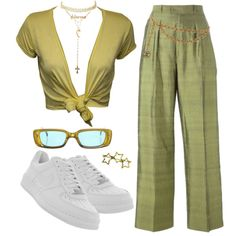 A fashion look from August 2017 by youraveragestyle featuring WearAll, Yves Saint Laurent, NIKE, Tiffany & Co., Jennifer Zeuner, Lee Renee, Charlotte Russe, Cha...