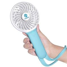 blue Yonger Mini USB Clip-fans Oscillating Fan Mute Strong Wind Portable Fans