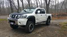 Lifted Nissan Titan Bushwacker Fender Flares Rbp Curved Light