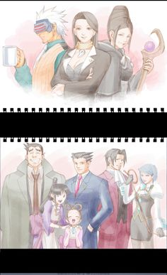 Laurice's Sketches || Phoenix Wright: Ace Attorney - Trials and Tribulations