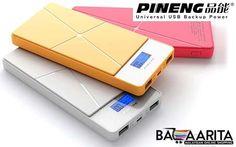 Original Pineng PN-983 10,000mAh Powerbank for only RM64 instead of RM95 (33% Off): http://www.bazaarita.my/december-original-pineng-10000-mah-lithium-polymer-power-bank-rm64