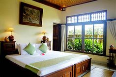 Alam Indah   Ubud, Bali Lily:  secluded down in the garden, half way down to the pool.  Twins or Double bed.   Size 32.5sqm