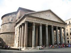 Výsledek obrázku pro Pantheon, Řím