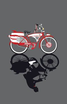 Pee Wee's infamous bike.