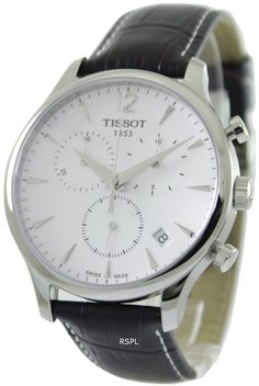 f517453cd07 Montre chronographe Tissot Tradition T063.617.16.037.00 masculin