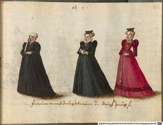 Women and maidens of Augsburg 1576