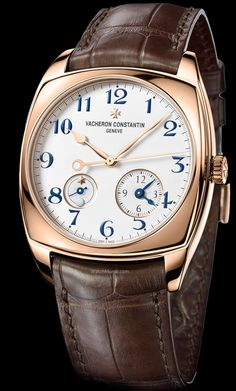 Vacheron Constantin – Harmony Dual Time (pink gold). New self-winding Caliber 2460DT dedicated to this must-have function.