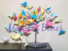 Árbol de mariposas de papel | Origami