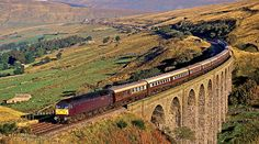 A trip on the Carlisle to Settle Railway. Even better if a steam train is involved.