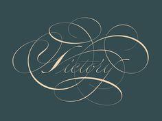 Victory #typography #design #inspiration