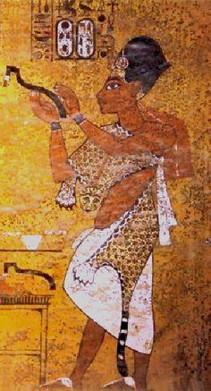 Pharaon Ay - XIVème Pharaon de la XVIIIème dynastie - succède à Toutankhamon pour quelques années seulement