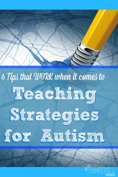 These tips may be new or they could be a refresher. Quite a few of these tips have helped the twins over time. 6 Tips that WORK when it comes to Teaching Strategies for Autism