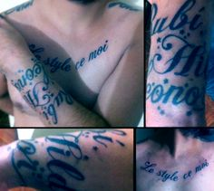 Tipography tattoos!!