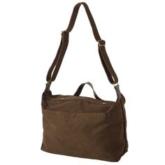 MUJI Canvass Leather Shoulder Bag