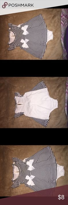Baby girl dress Beautiful black and white dress 👗 First Impressions Dresses Casual