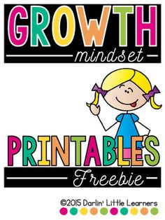 "Included you will find a ""snippet"" from my Growth Mindset resource. Directions for how to create the flip-flap book are included. This freebie will have students identify a time that they were faced with a struggle. They will also explain what a fixed mindset would be vs."