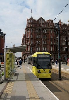 Manchester Metrolink 3002, St. Peters Square, Manchester, England (by Anon Mouse on Flickr)