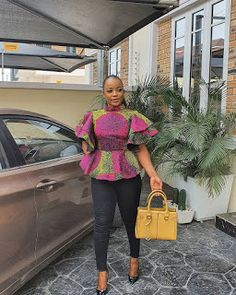 Short African Dresses, African Blouses, Latest African Fashion Dresses, African Inspired Fashion, African Print Fashion, African Print Shirt, African Print Dress Designs, Baby African Clothes, African Tops For Women