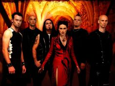 A group from Europe that I really like called Within Temptation. They are Dutch.