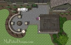 Beautiful, shady and fun! Create a backyard paradise with our Relaxing Outdoor Living Design with Pergola. Includes how-to's, layouts and material list.