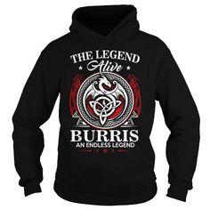 I Love  BURRIS T shirts