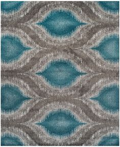 "Dalyn Neo Grey Cove Teal 9'6"" x 13'2"" Area Rug - Rugs - Macy's"