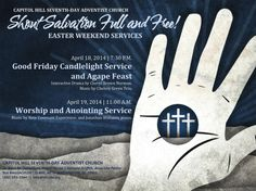 """WEB BANNER - Easter """"Shout Salvation Full and Free"""" - Apr 18 - 19, 2014"""