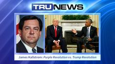 Has billionaire activist George Soros launched a Purple Revolution against President-elect Donald J. Trump?