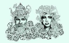 ROYALTY By Sofia Castellanos  #art #illustration #princess #royals #middleeast #magic #story #mystery #ancient #modern #art